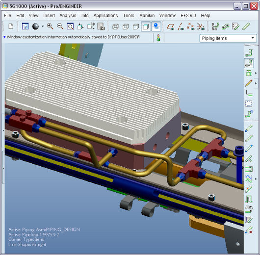 Ptc Creo Piping And Cabling Extension Ipm Solutions
